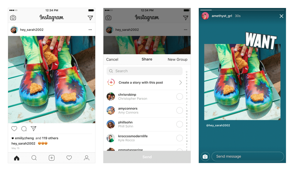 Feed Posts as Stories
