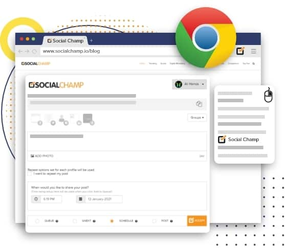 Multiple Scheduling with Chrome Extensions