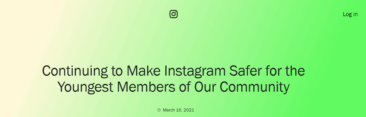 Instagram Continues To Make Itself Safer For The Young Members