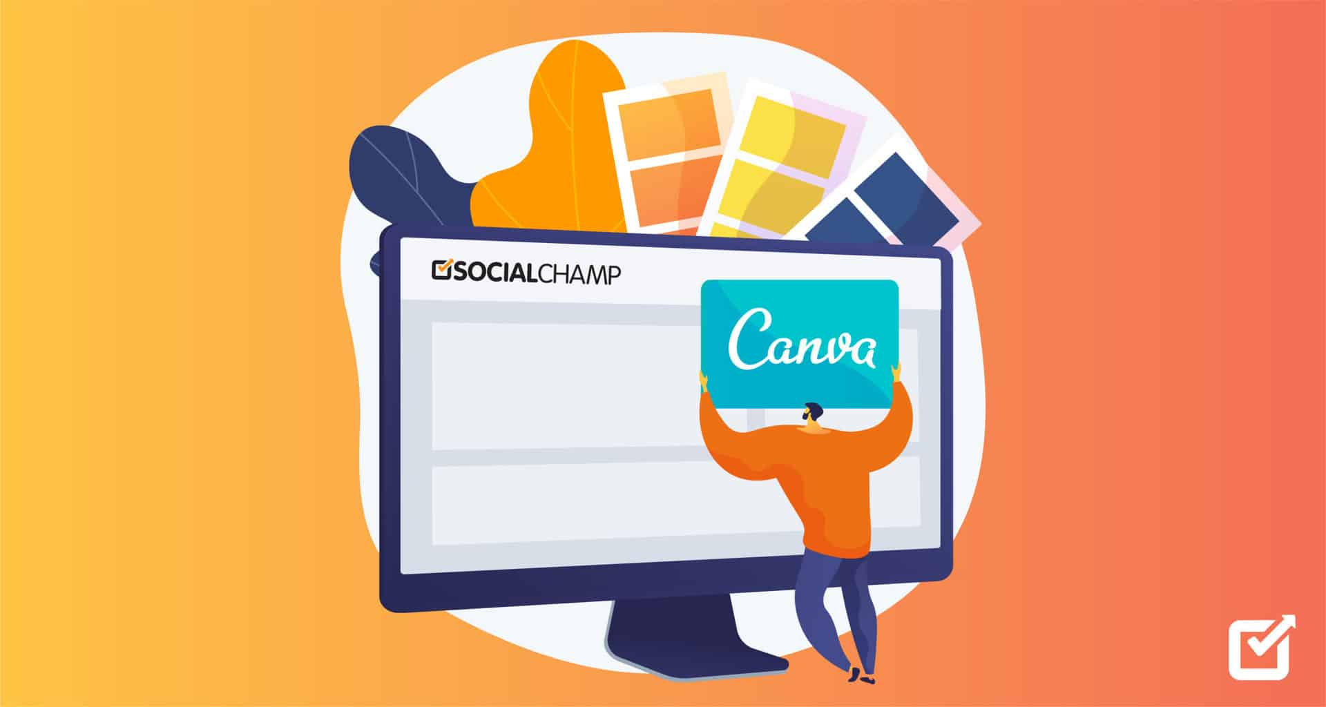 Canva Integration With Social Champ