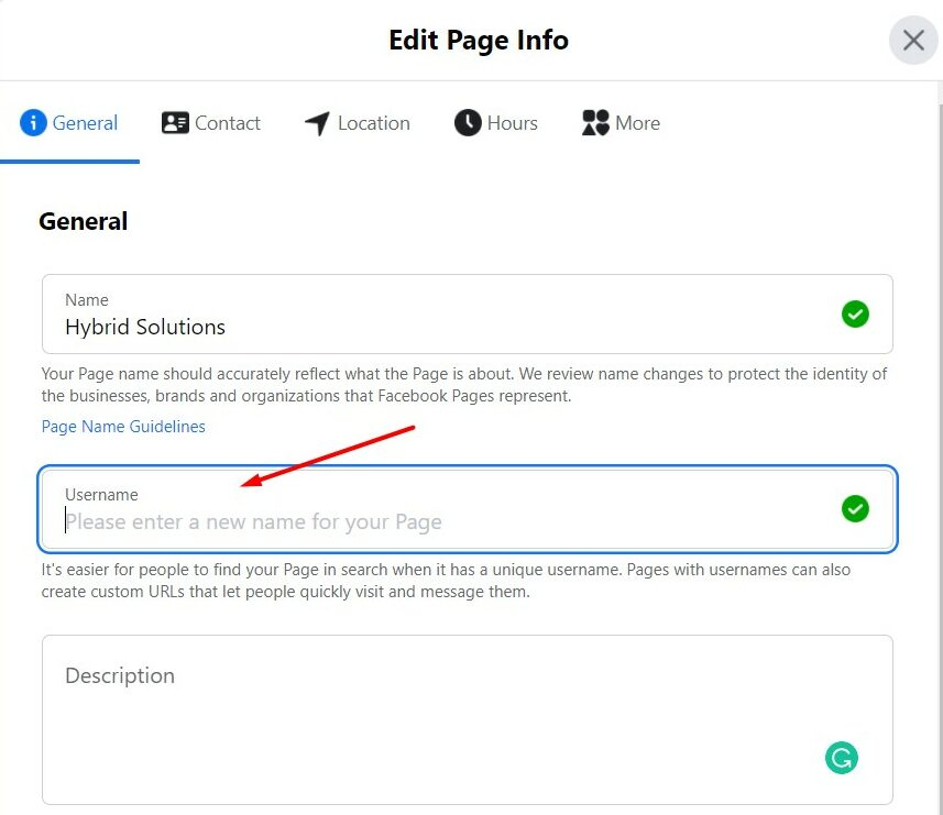 Personalize the Page URL